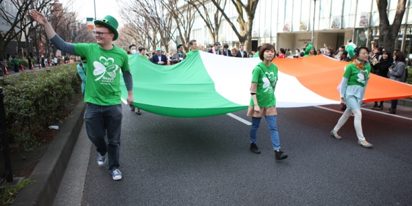 The Participants of the 25th St. Patrick's Day Tokyo
